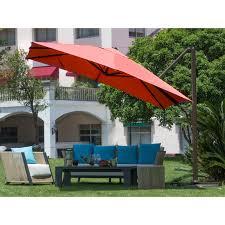 Large Cantilever Patio Umbrella by Outdoor Design Niavisdesign