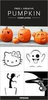 Walking Dead Pumpkin Stencils Free Printable by 18 Insanely Clever Pop Culture Stencils To Up Your Pumpkin Carving