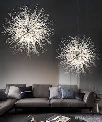 großhandel led kronleuchter acryl lichter le für esszimmer wohnzimmer ladario moderno lustre chandelier lighting yogurt 125 63 auf