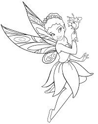 Fairy Coloring Pages Best Photo Gallery For Website
