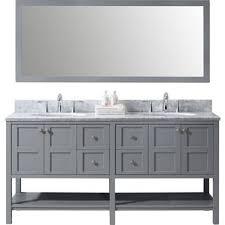 48 Inch White Bathroom Vanity Without Top by Modern Bathroom Vanities U0026 Cabinets Allmodern