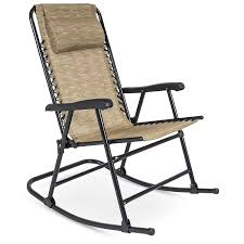 Best Choice Products Foldable Zero Gravity Rocking Patio Recliner Lounge  Chair W/ Headrest Pillow - Beige Flash Fniture Kids White Resin Folding Chair With Vinyl How To Save Yourself Money Diy Patio Repair Aqua Lawn The Best Camping Chairs Travel Leisure Pair Of By Telescope Company Top 14 In 2019 Closeup Check Lavish Home Black Cushion Seat Foldable Set 2 7 Sturdy For Fat People Up To And Beyond 500 Pounds Reweb A 10 Easy Wooden Benches Family Hdyman Wrought Iron Ideas Outdoor Stackable
