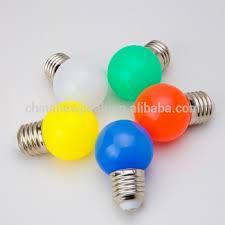 1w e27 mini color g45 led light bulb outdoor use