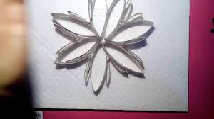 comment réaliser une fleur en rouleau de papier toilette