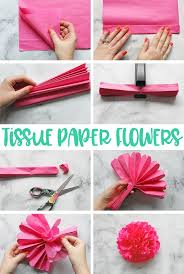 The Ultimate Guide To Learn How Make Tissue Paper Flowers Photo And Video Tutorial Plus Sizing Charts Hanging Tips Creative Ways Use