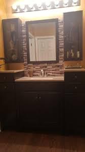 Glacier Bay Bathroom Vanity With Top by Glacier Bay Modular 30 5 In W Bath Vanity In Java With Solid