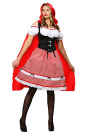 Characters For Halloween With Red Hair by Little Red Riding Hood Costumes Halloweencostumes Com