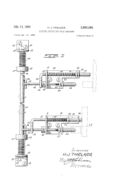Shaw Walker File Cabinet Lock by Patent Us2992056 Locking Device For File Cabinets Google Patents