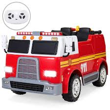 100 Emergency Truck Amazoncom Best Choice Products 12V Kids Fire Engine Ride On