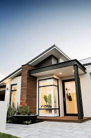 104 Skillian Roof Ross North Homes Featuring A Skillion And Front Porch The Salcombe Modern Elevation Has Everything A New Home Buyer Could Want Experience Its Display Version Today Between 1 5pm On Colbalt