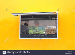 100 Food Truck Window Yellow And Orange Food Truck With A Window And The Text We Love