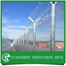 The Drawing Of Anti Climb Fence Installation Including Saudi Arabia 358 Anti Climb Border Fences Security View Fences