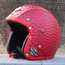 Vcoros Vintage Leather Motorcycle Helmet Open Face Motorbike Retro Harley Style Scooter Women Vespa Motos Helmets