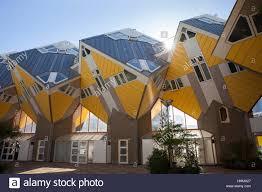100 Cubic House S Cube Architecture Architect Piet Blom Blaak Stock