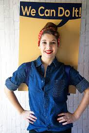 Rosie The Riveter Halloween Tutorial by Rosie The Riveter Costume U2022 Whipperberry