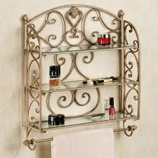 Oak Bathroom Wall Cabinet With Towel Bar by Bath Wall Accents Touch Of Class