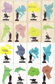 Eight Territory Cards From The 1963 UK Set And Same 1980 Latter Were More Accurate Maps Northern Ukraine Greece In Southern