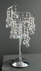 Swarovski Crystal Lamp Finials by Swarovski Crystal Table Lamp Swarovski Crystal Pinterest