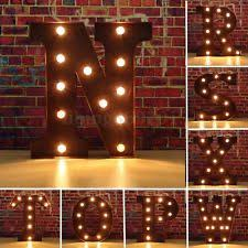 Marquee Letter Light Collectibles