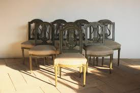 Good Set Of Eight 1920s French Painted Dining Chairs ... How To Transform A Vintage Ding Table With Paint Bluesky Pating My Antique Six Edwardian French Painted Chairs 364060 19th Century Country Set Of 6 Balloon Back Good 1940s Faux Bamboo Eight 1920s Pair Regency 2 Side White Chippy Chair Early 20th Louis Xvi Chairsset 8 Abc Carpet Home Style Fniture And European Buy Cheap Punched Wood Handpainted