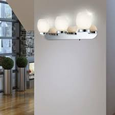 büromöbel 9 watt led wand leuchte glas opal