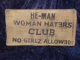 Rustic White Oak Sign Little Rascals He Man Club