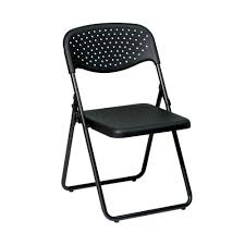 Hercules Padded Folding Chairs by Work Smart Black Plastic Folding Chair Set Of 4 Fc8000np 3 The