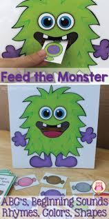 Preschool Halloween Books by Monster Activities U0026 Halloween Activities For Preschool And