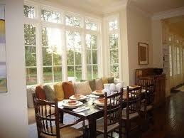 5 Bay Window Dining Room In Diningroom Traditional Jpg