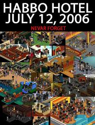 Bobba OffToday Is The Anniversary Of Iconic POOLS CLOSED On Habbo Hotel