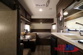 Forest River Cherokee Wolf Pup Travel Trailer Interior