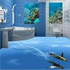 benutzerdefinierte foto 3d boden wandbilder badezimmer boden