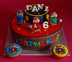 Alvin And The Chipmunks Cake Decorations by 99 Best Cakes Chipmunk Images On Pinterest Chipmunks Birthday