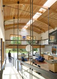 Modern Industrial Suburban House In Seattle With Curved Roof ... Interior Contemporary House Design Gallery Modern Home Interesting Bedroom Designs For Decor Universodreceitascom Zen Inspired Beautiful Balinese Style In Hawaii January 2016 Kerala Home Design And Floor Plans Fniture Raya Firms Decorating Ideas Futuristic 51 Living Room From Talented Architects Around The World