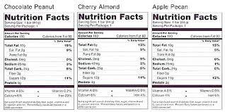 Kind Bar Nutrition Bars Facts You Can Find Nutritional Information On The