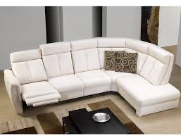 canape angle cuir relax electrique canape d angle relax ref 21525 meubles husson