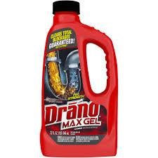 drano max gel clog remover 32 ozs walmart com