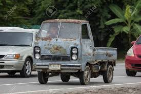 100 Hijet Mini Truck Chiangmai Thailand September 4 2018 Private Old