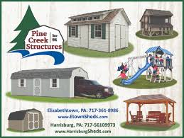 amish sheds pole buildings swing sets harrisburg pa pine creek