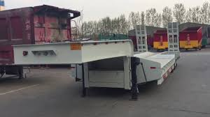 100 Truck Bed Trailers LOW BED TRAILER Low Bed Semi Trailer 80T Lowbed Semi Trailers
