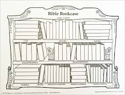 Books Of The Bible Chart Printable Bookcase Wall