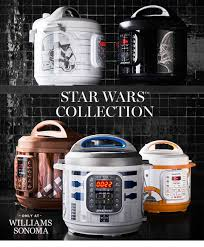 wars themed pressure cookers by williams sonoma