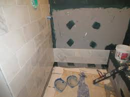marble carrara tile bathroom part 2 installing the marble