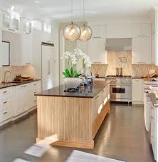 contemporary kitchen ideas with white cabinet and shaped