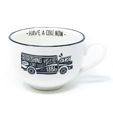 Coca-Cola Chalk Talk Truck Soup Mug | Coke Store