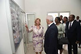 prise en charge des malades du cancer la première dame visite