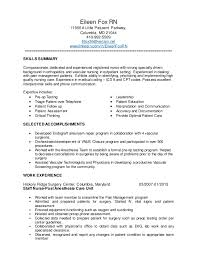 Pleasant Sample Resume For Surgical Nurses On Medical Nursing Nurse