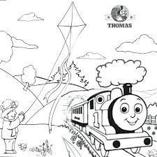 Thomas The Tank Engine Coloring Pages Games Online Train Page To Print