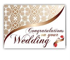 Congratulations Wedding Card Messages