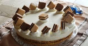patces patisserie köstlich knusprige knoppers torte ohne